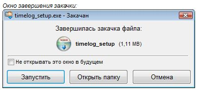 Менеджер закачек Download Master - Завершение