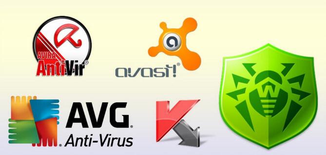 Разные антивирусы для компьютера