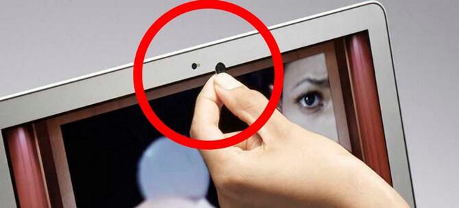 Закрывайте объектив камеры защитной крышкой